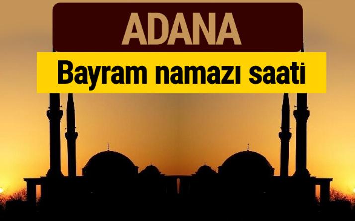 Adana bayram namazı vakti kaçta 2018 diyanet saatleri