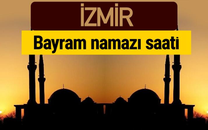 İzmir bayram namazı vakti kaçta 2018 diyanet saatleri