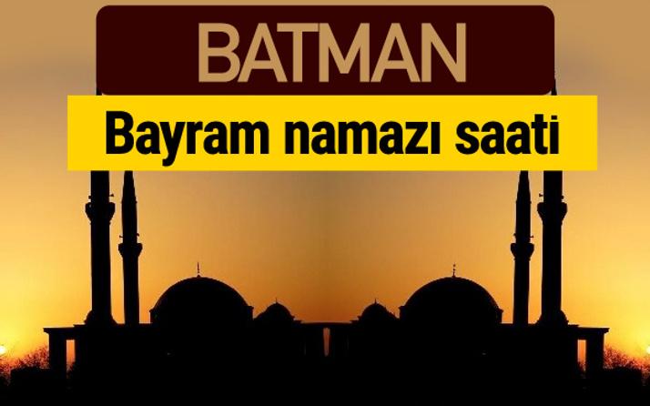 Batman bayram namazı vakti kaçta 2018 diyanet saatleri