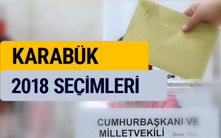 Seçim sonuçları 2018 Karabük seçim sonucu