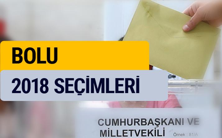 Seçim sonuçları 2018 YSK Bolu seçim sonucu