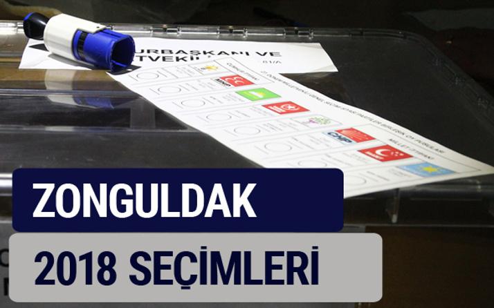 Zonguldak oy oranları partilerin ittifak oy sonuçları 2018 - Zonguldak
