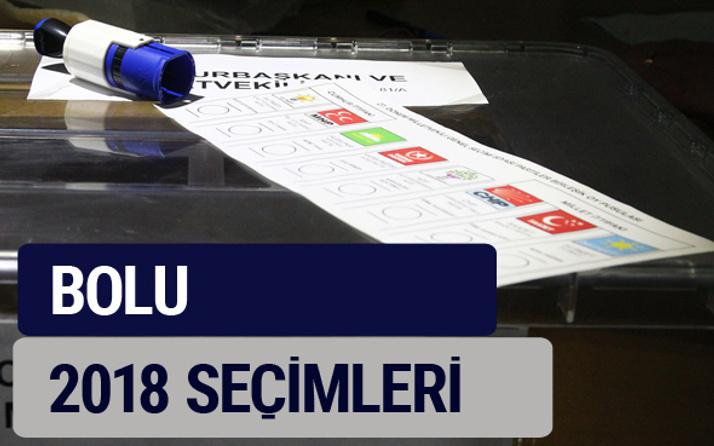 Bolu oy oranları partilerin ittifak oy sonuçları 2018 - Bolu