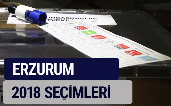 Erzurum oy oranları partilerin ittifak oy sonuçları 2018 - Erzurum