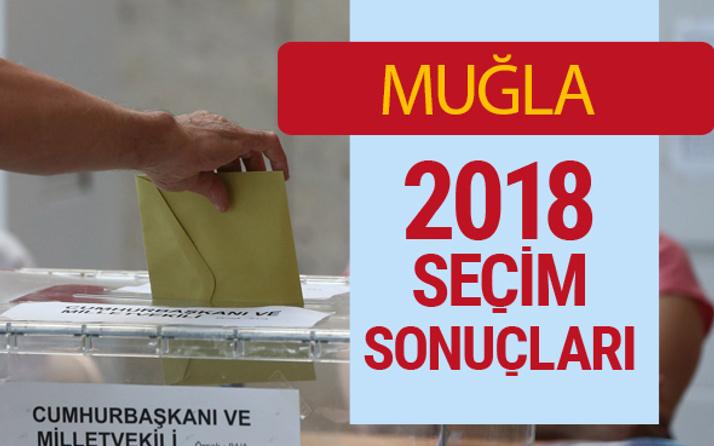Muğla Seçim Sonuçları - Genel Seçim 2018 Muğla Sonucu son oy oranları