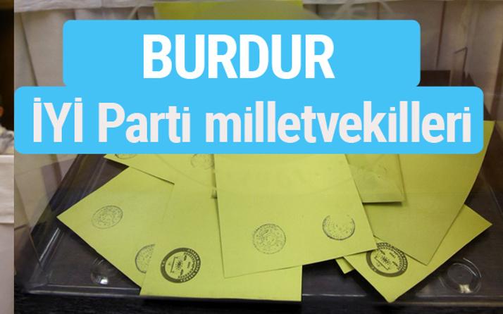 İYİ Parti Burdur milletvekilleri listesi iyi parti oy sonucu