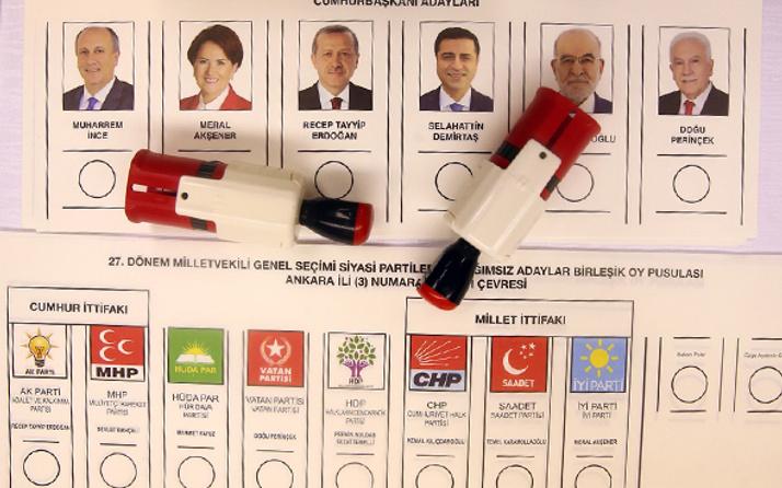 Milletvekili 2018 seçimi açılan sandık sayısı