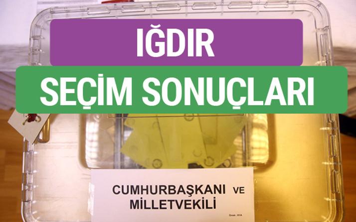 HDP Iğdır Milletvekilleri listesi 2018 Iğdır Sonucu