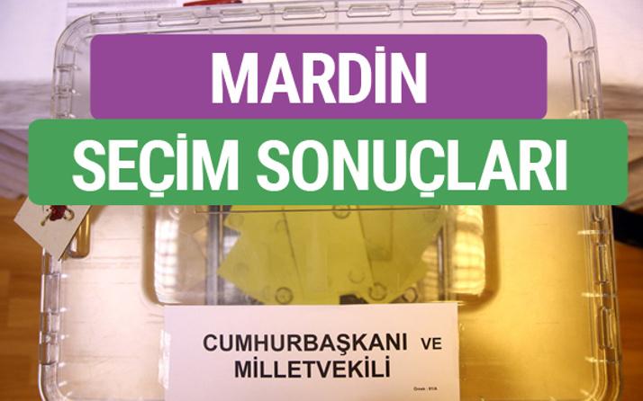 HDP Mardin Milletvekilleri listesi 2018 Mardin Sonucu