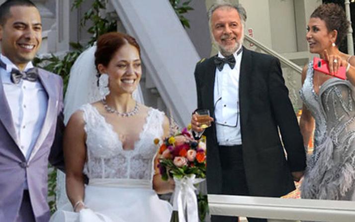 Serap Ezgü kızını evlendirdi!