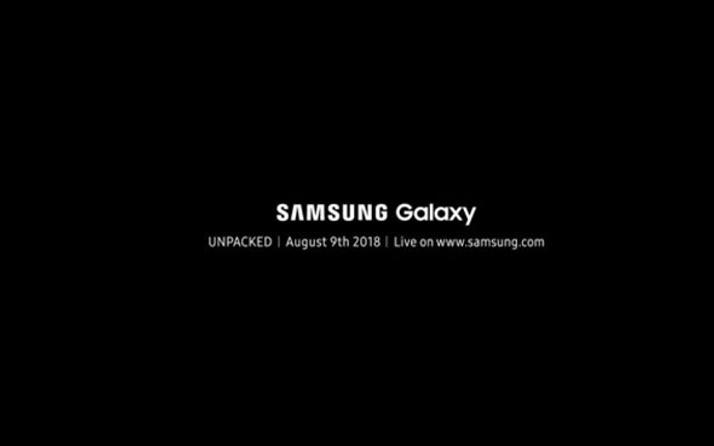Samsung Galaxy Note 9 etkinliğinin detayları belli oldu!