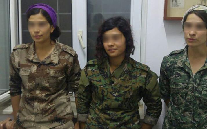 PKK'nın çocukken kaçırdığı 3 kadın terörist teslim oldu!