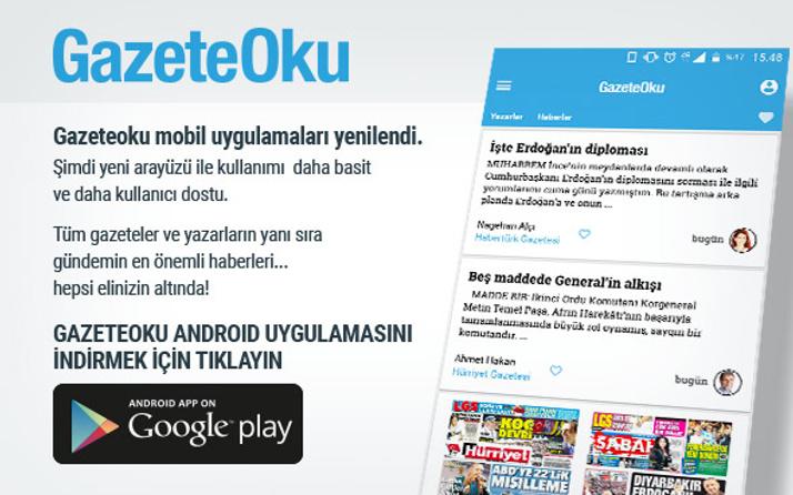 Gazeteoku iOS ve android uygulaması indirdiniz mi?