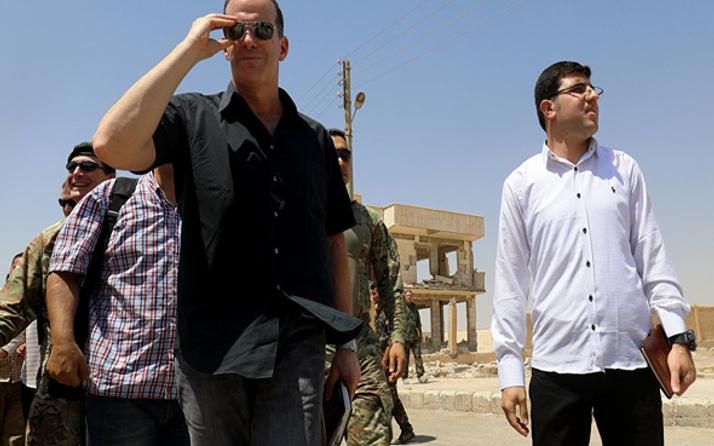 Trump'ın temsilcisi YPG'yi ziyaret etti: Yardımlar artırılacak
