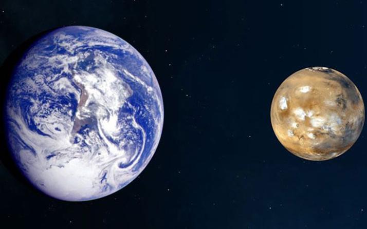 Mars Dünya'ya yakınlaşacak!
