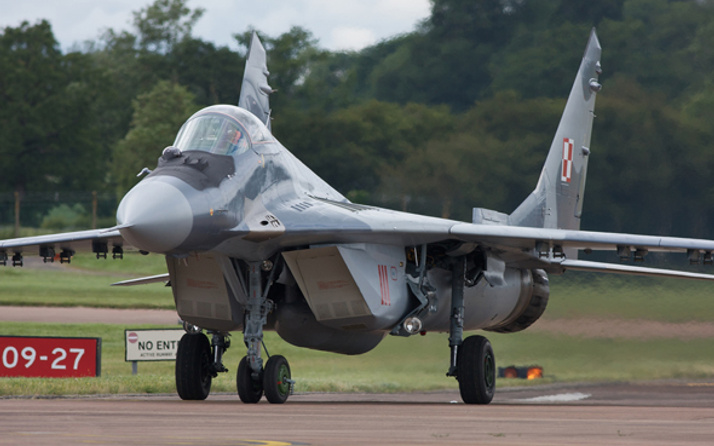 Savaş uçağı düştü! 1 pilot hayatını kaybetti