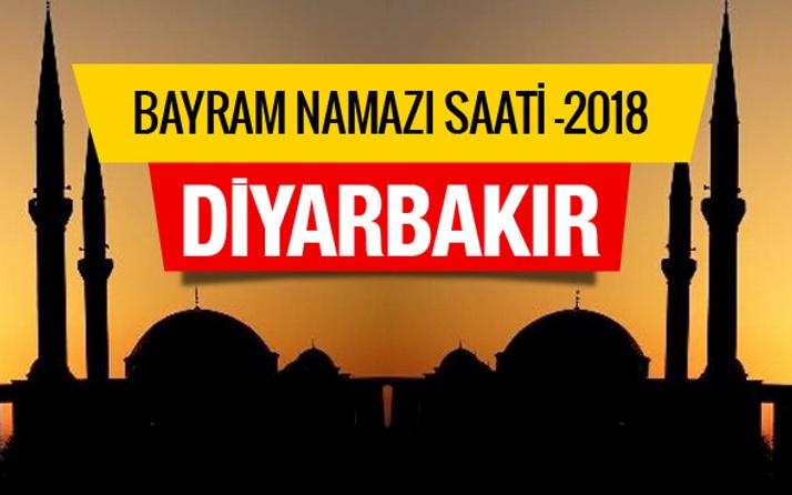 Diyarbakır bayram namazı saat kaçta 2018 diyanet listesi