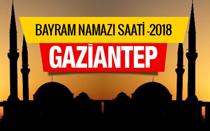 Diyanet Gaziantep Kurban bayramı namaz saatini açıkladı