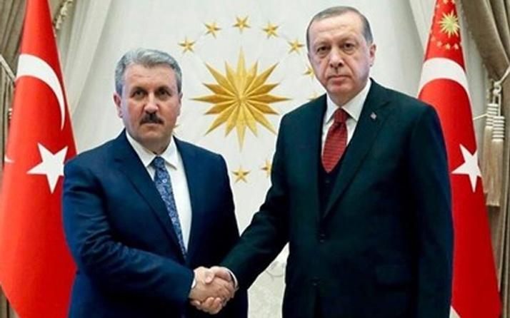 BBP lideri Destici'den Erdoğan'a tebrik