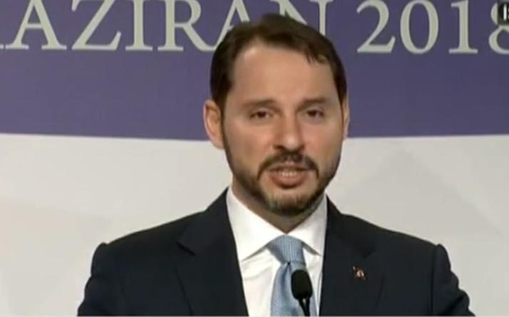 Hazine Bakanı Albayrak'tan çok önemli 'yaptırım' açıklaması