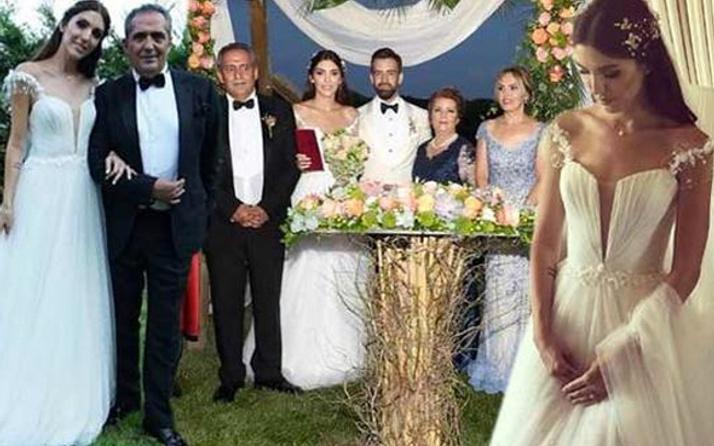 Yavuz Bingöl'ün kızı Türkü Bingöl evlendi