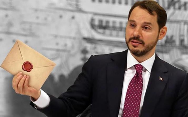 Çek şirketten Bakan Albayrak'a borç mektubu