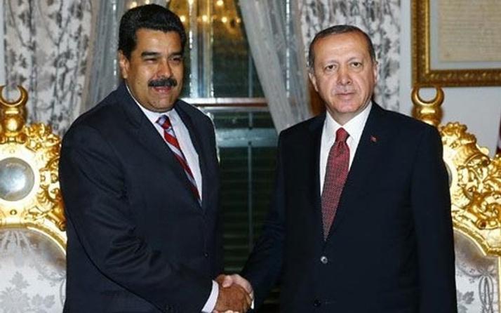 Erdoğan, Maduro ile telefonda görüştü