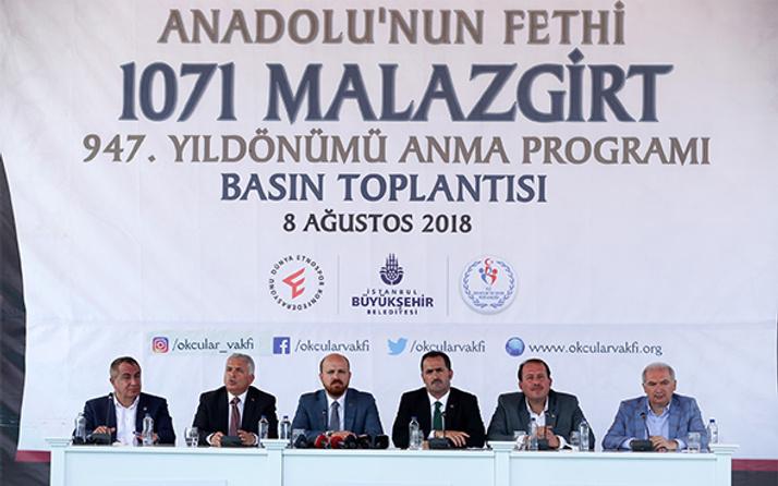 İBB Başkanı Uysal: 'Malazgirt'i hatırlama anlamında İstanbul'un sorumluluğu var'