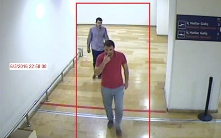 İstanbul'daki hain saldırının yeni görüntüleri