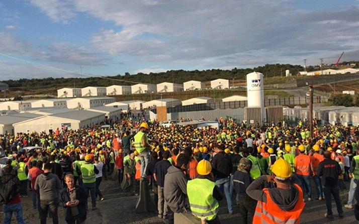 3. Havalimanı'nda eylem yapan işçilerden 24'üne tutuklama!