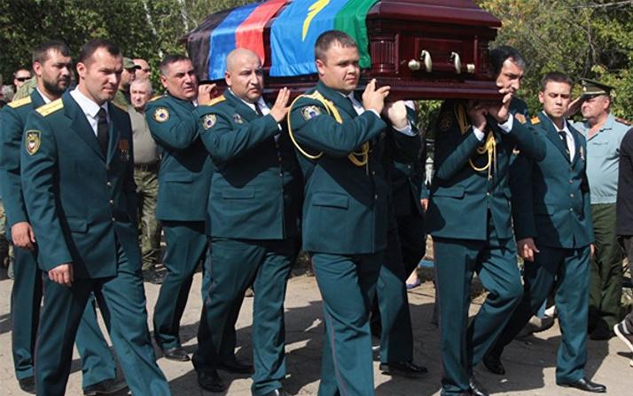 Suikast kurbanı Zaharçenko toprağa verildi