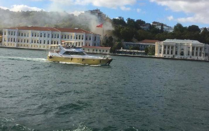 Beşiktaş'ta korkutan yangın!