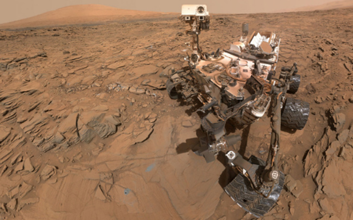 Curiosity keşif aracı Mars operasyonlarına ara verdi