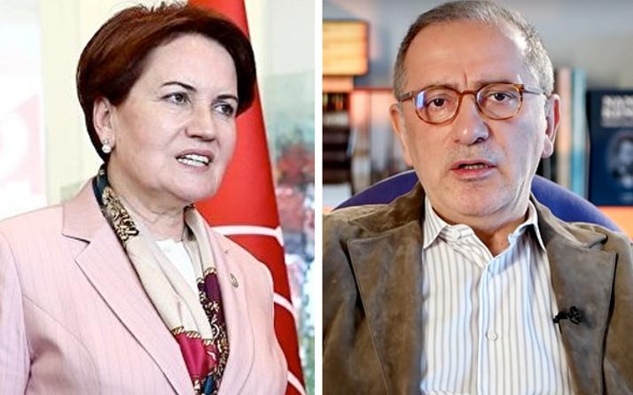 Fatih Altaylı yazdı Meral Akşener sürprizi
