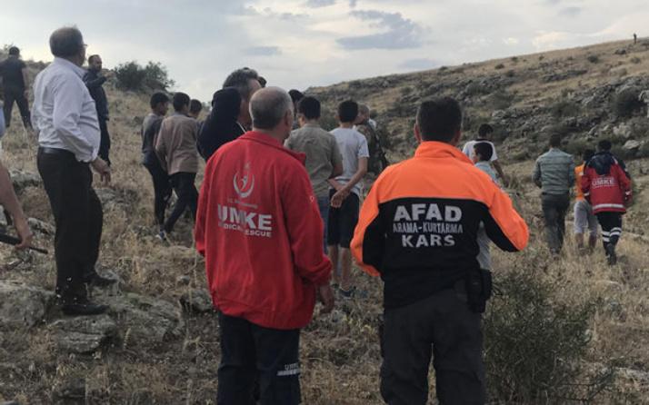 Kars'ta kaybolan çocuk 4 saat sonra bulundu!