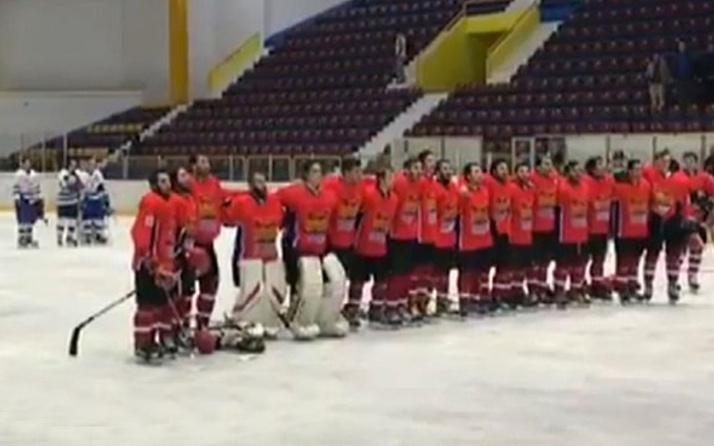 Kıtalararası Buz Hokeyi Kupası'nda 'İstiklal Marşı' skandalı