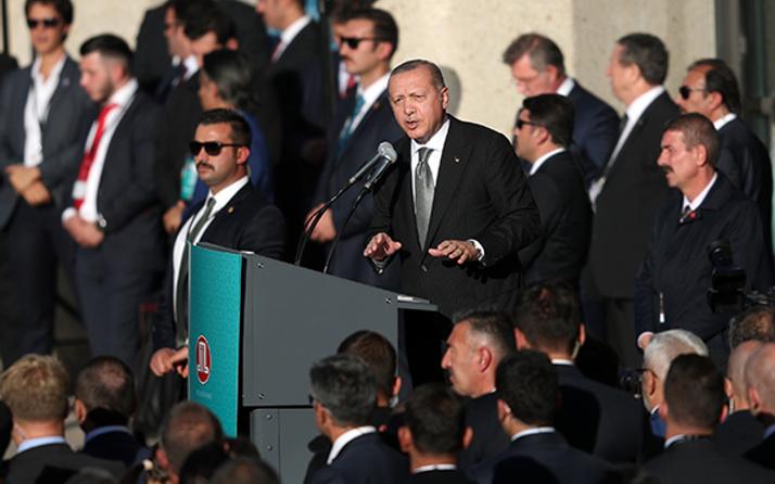 Erdoğan'ın Köln Merkez Camisi açılışında o ayrıntıyı kimse farketmedi!