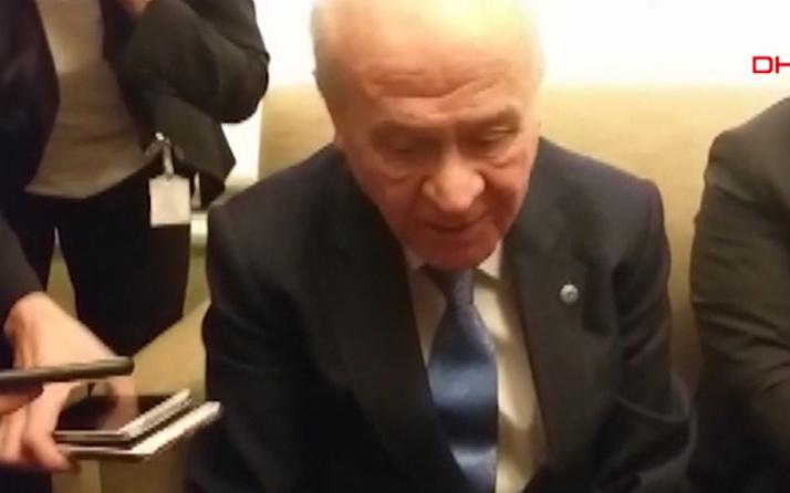Devlet Bahçeli'den yerel seçim esprisi! Sırf Beşiktaşlı olduğum için...