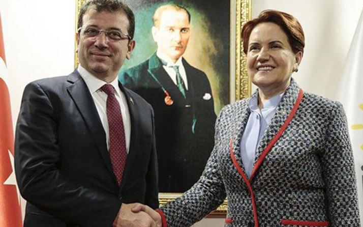 Ekrem İmamoğlu'ndan Meral Akşener'e sürpriz ziyaret!