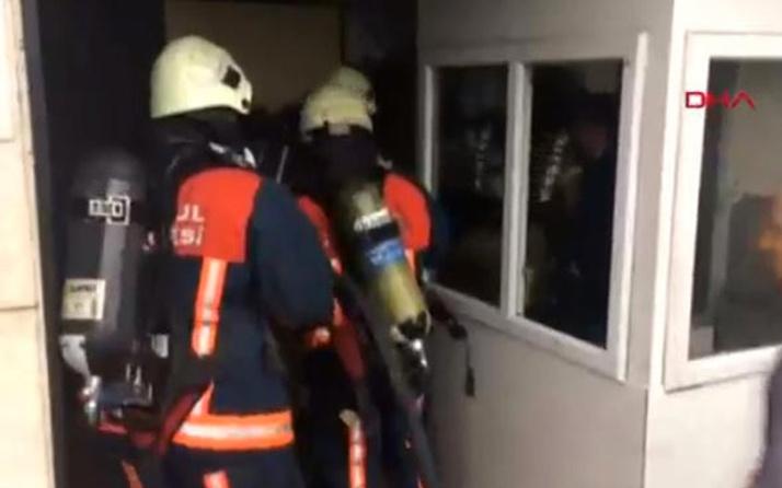 İstanbul'da otelde yangın paniği