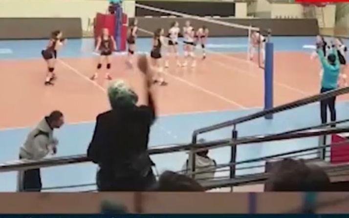 Karşı takımın antrenörüne anne terliği!