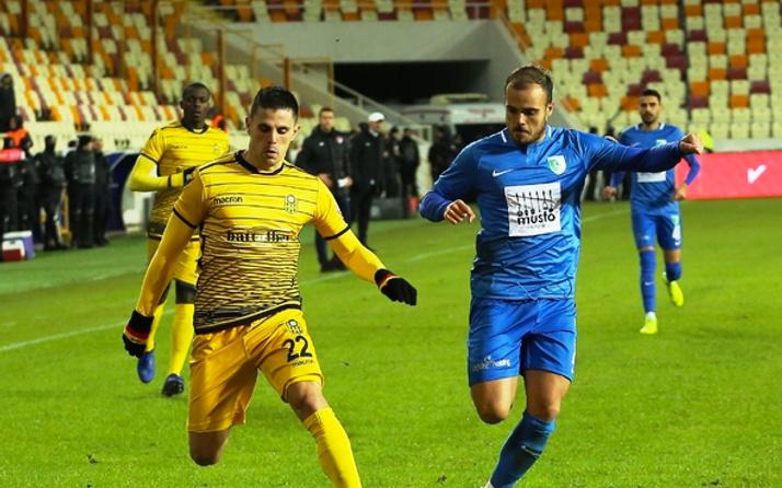 Yeni Malatyaspor, Bodrumspor deplasmanında çeyrek finale yükseldi