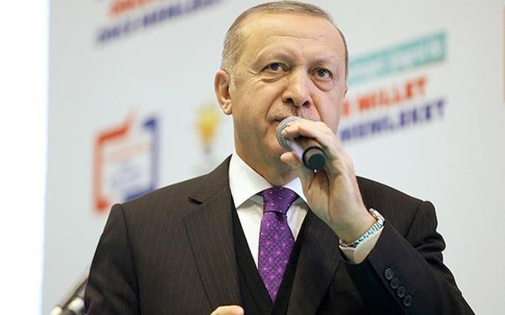 Cumhurbaşkanı Recep Tayyip Erdoğan Erzurum adaylarını tanıttı