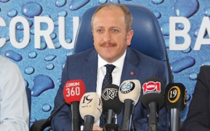 AK Parti Çorum İl Başkanı Mehmet Karadağ görevinden istifa etti