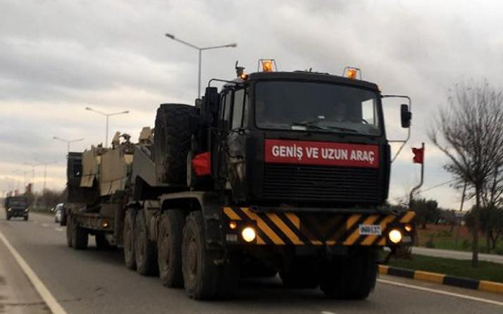 Suriye sınırına tank ve obüsler taşınıyor!
