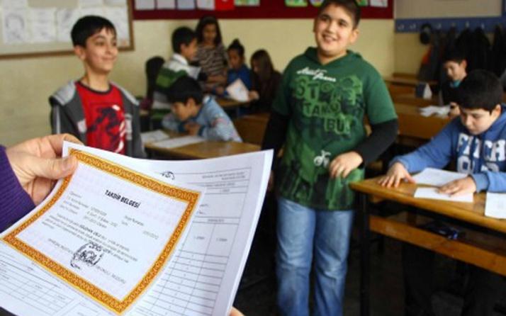 Takdir alma puanı kaç oldu 2019 sınıflara göre karne puanı