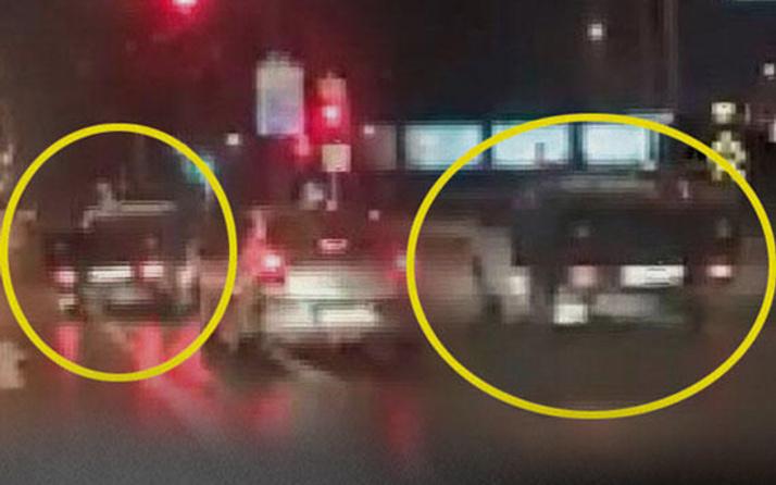 Bursa'da trafik canavarı böyle görüntülendi!