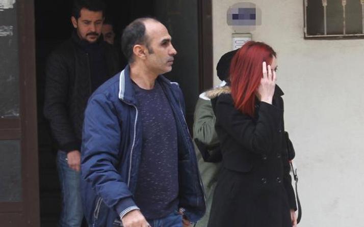 Eşinin eve erkek aldığını kameradan görüp polise ihbar etti
