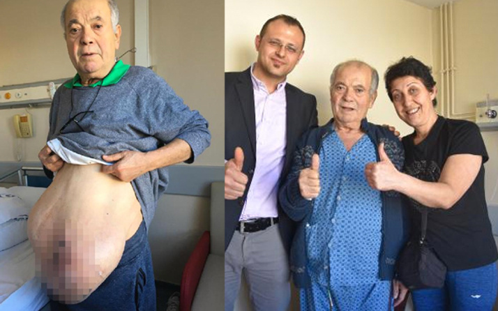 Fransa'da ameliyat edilmeyen adam Adana'da şifayı buldu