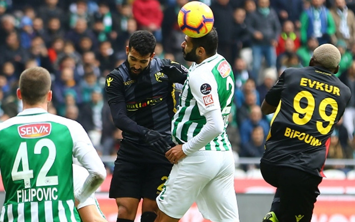 Yeni Malatyaspor Konyaspor deplasmanından bir puanla döndü